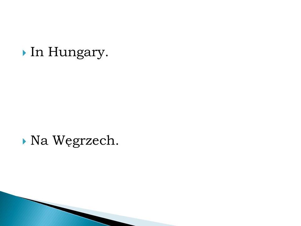  In Hungary.  Na Węgrzech.