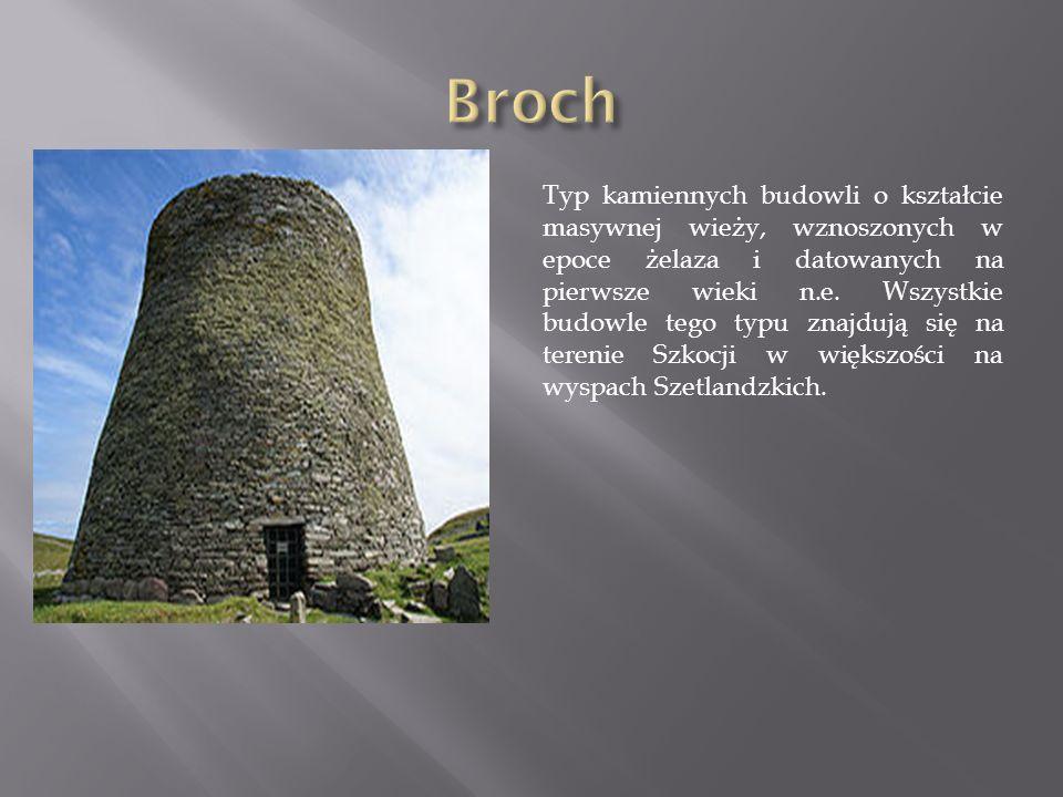 Typ kamiennych budowli o kształcie masywnej wieży, wznoszonych w epoce żelaza i datowanych na pierwsze wieki n.e.