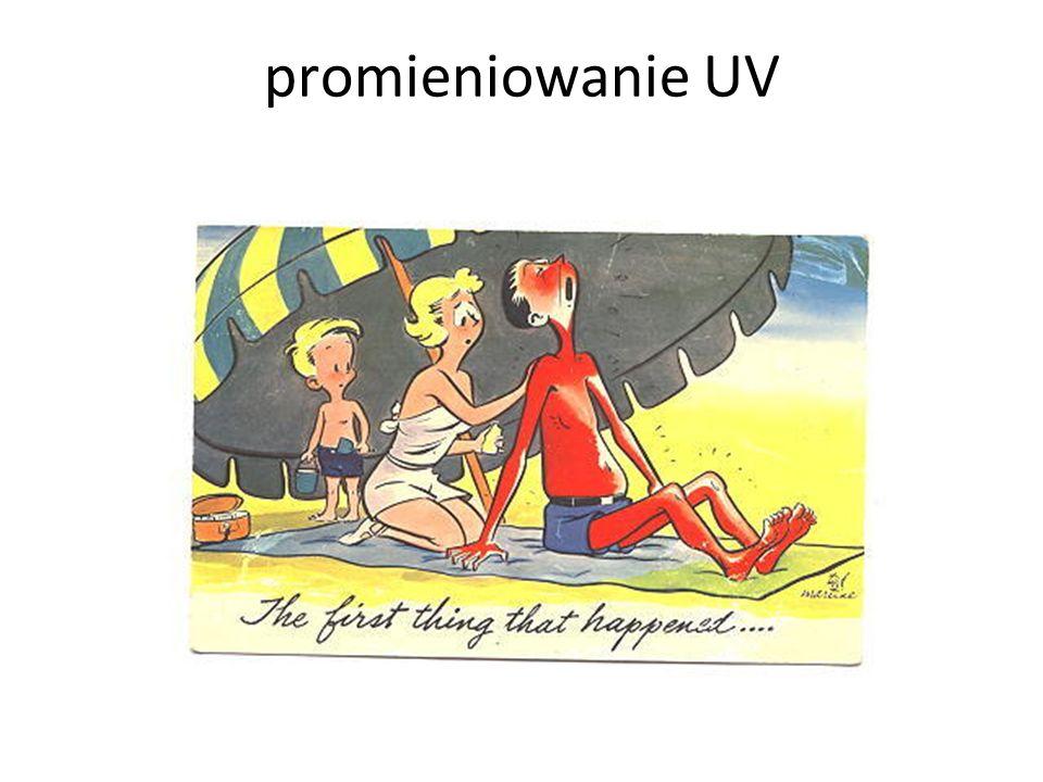 promieniowanie UV