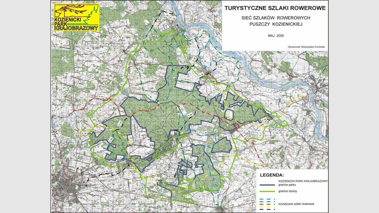 Ścieżki dydaktyczne Na terenie Puszczy Kozienickiej dostępnych jest 9 ścieżek dydaktycznych: Ścieżka przyrodnicza w rezerwacie Pionki Ścieżka krajobra