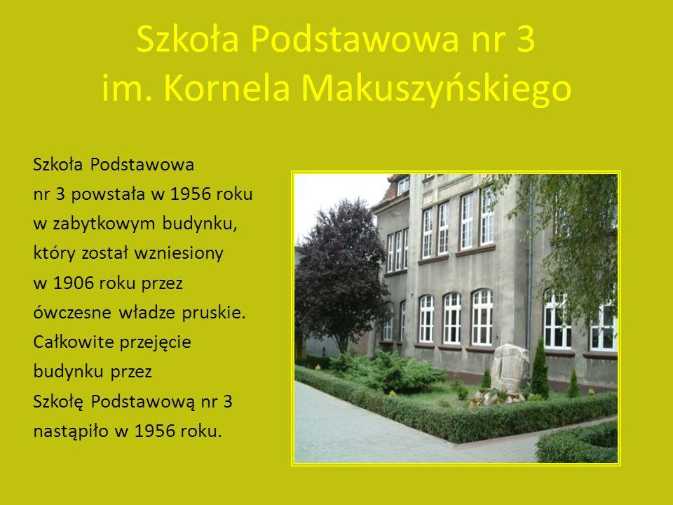 Szkoła Podstawowa nr 1 im. Strajku Dzieci Koźmińskich 1906/1907.