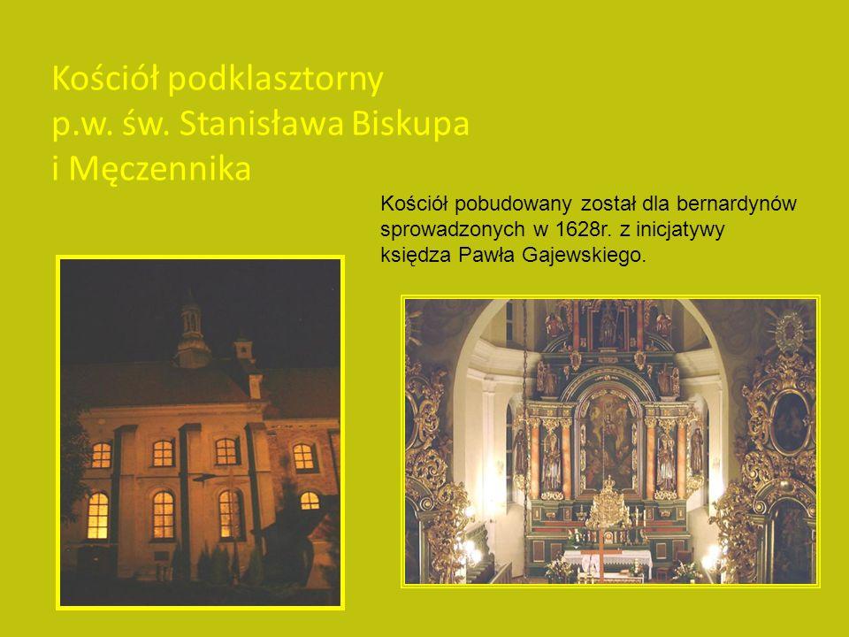 Patronem kościoła Farnego jest św. Wawrzyniec.