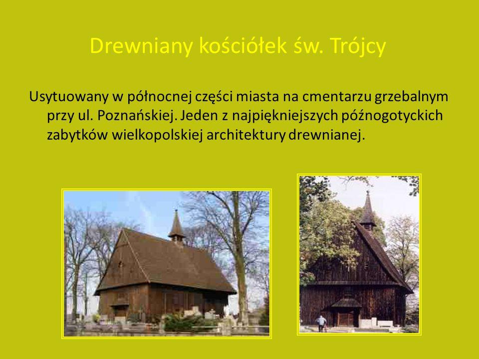 Drewniany kościółek św.