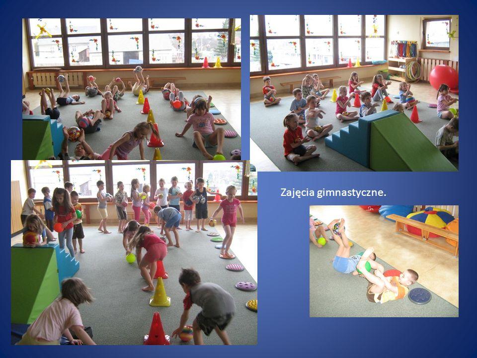Zajęcia gimnastyczne.