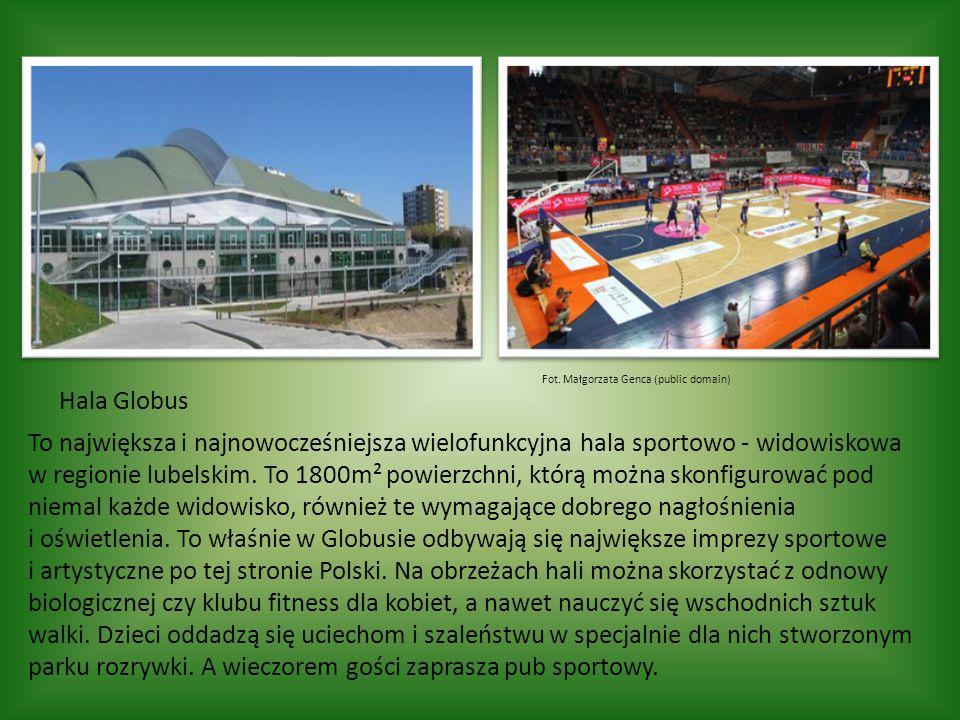 Hala Globus To największa i najnowocześniejsza wielofunkcyjna hala sportowo - widowiskowa w regionie lubelskim.