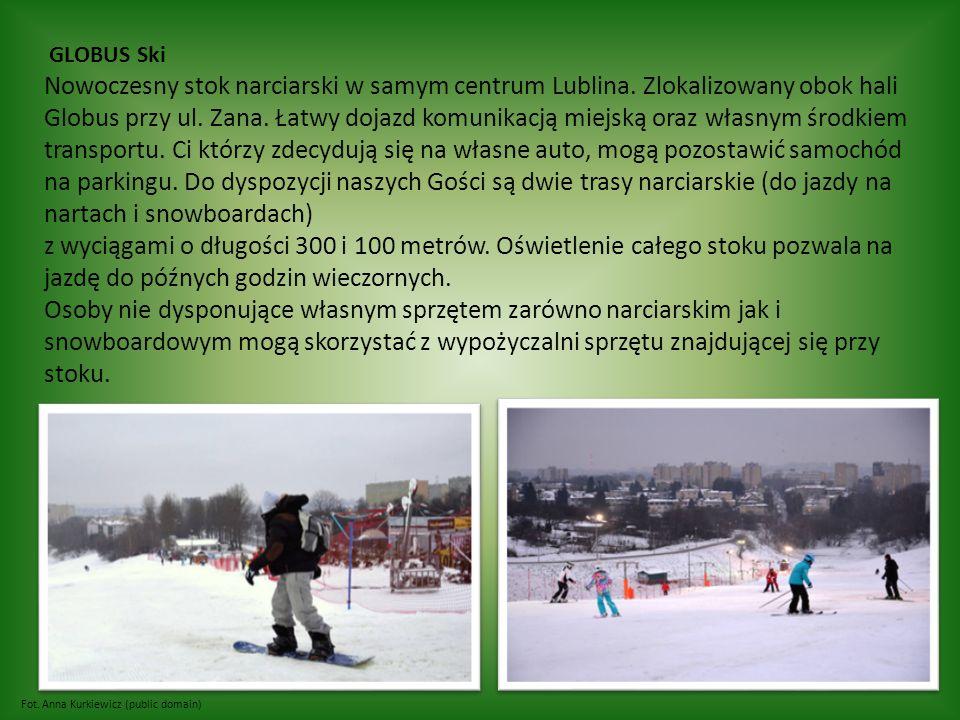 Fot. Anna Kurkiewicz (public domain) GLOBUS Ski Nowoczesny stok narciarski w samym centrum Lublina.