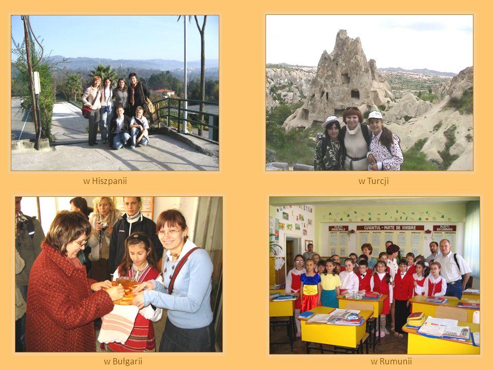 w Hiszpaniiw Turcji w Bułgariiw Rumunii