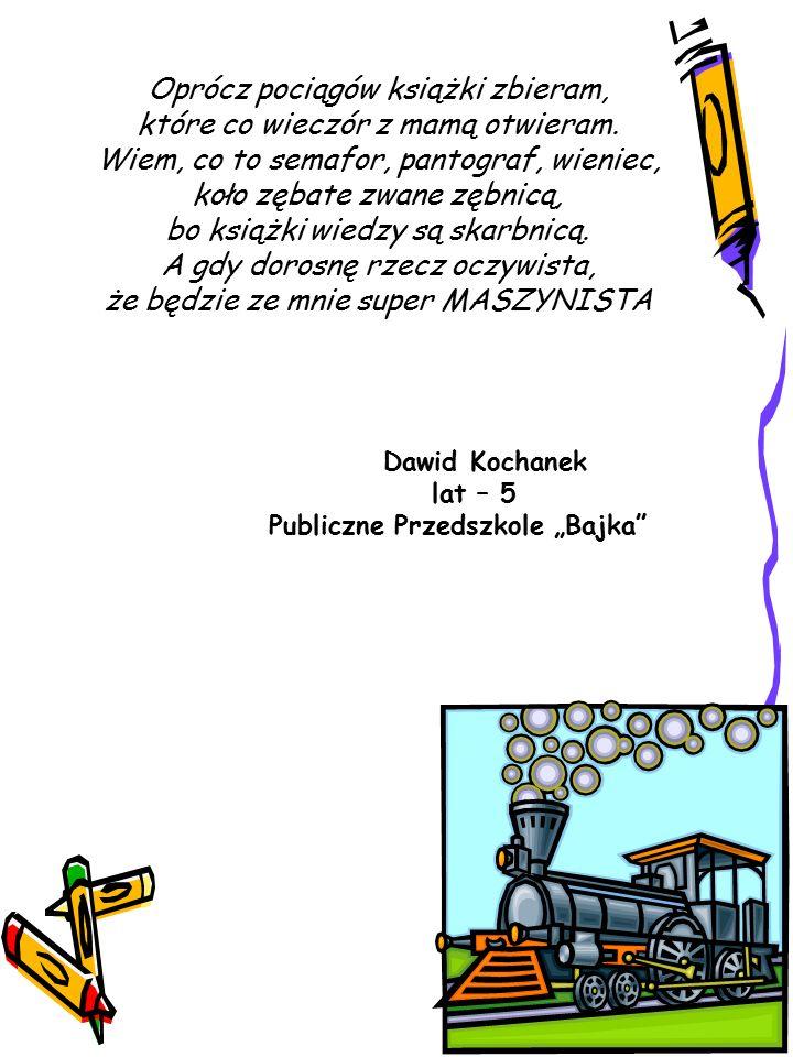 Stoi na stacji lokomotywa – Tak się zaczyna wierszyk Tuwima.