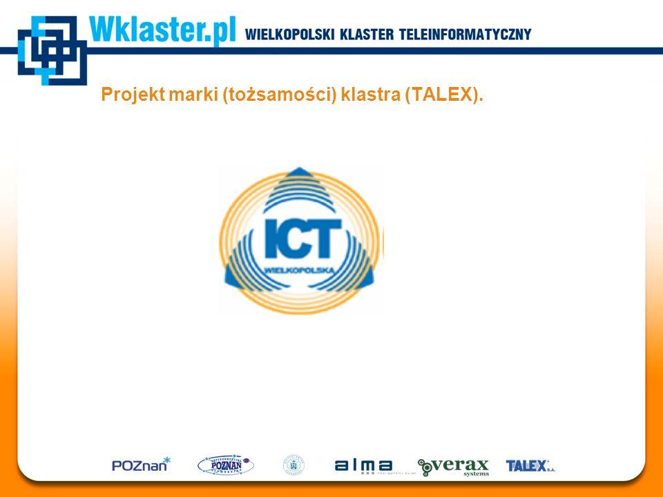 Projekt marki (tożsamości) klastra (TALEX).