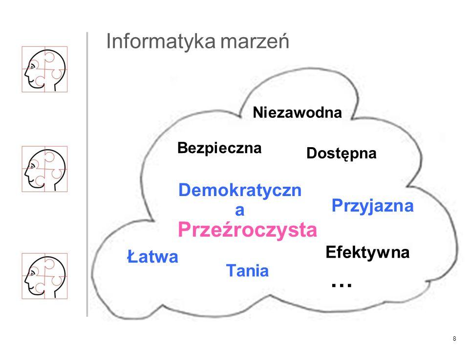 Teza : Przetwarzanie w chmurze może spełnić listę marzeń