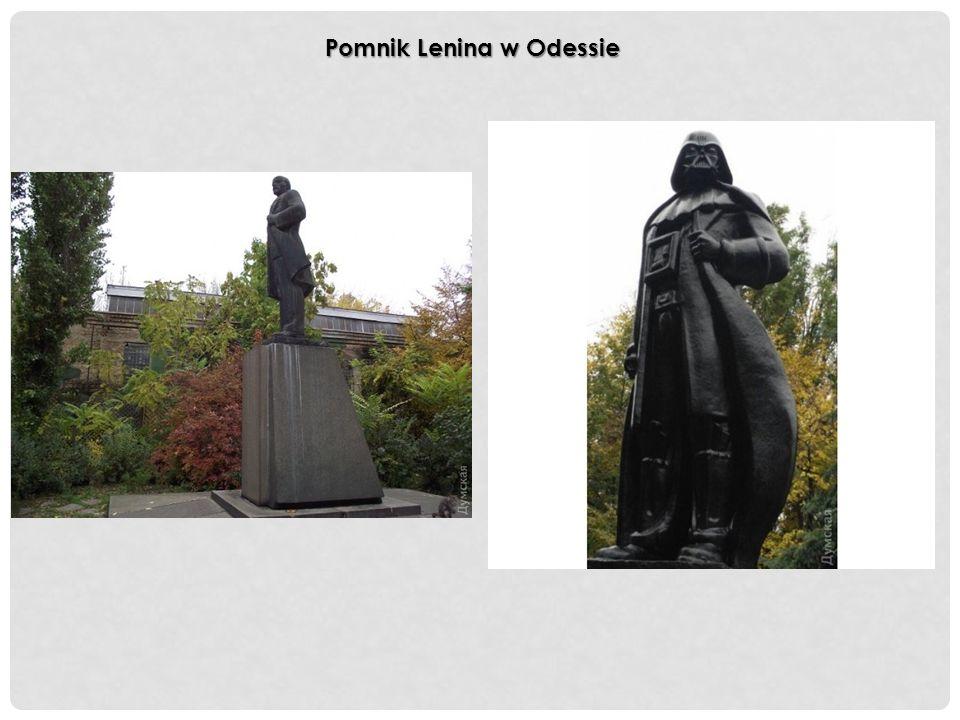Pomnik Lenina w Odessie