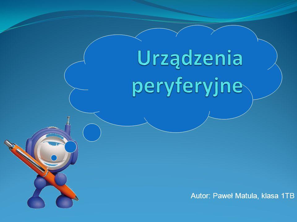Autor: Paweł Matula, klasa 1TB