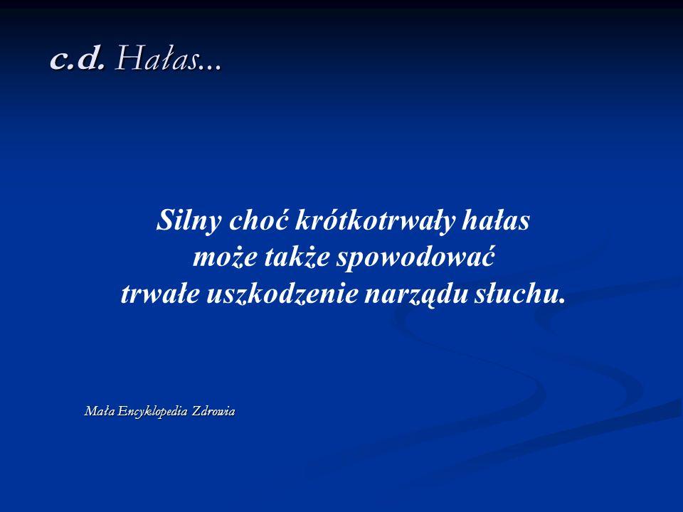 c.d.Hałas...