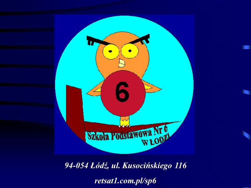 94-054 Łódź, ul. Kusocińskiego 116 retsat1.com.pl/sp6