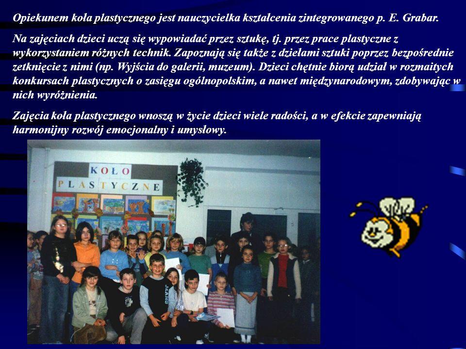 W naszej szkole działa koło historyczne prowadzone przez panią Ingę Mularczyk.
