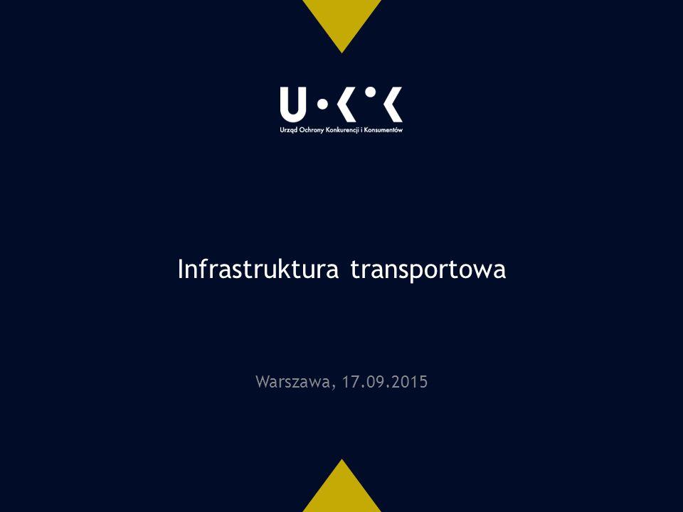 Infrastruktura transportowa Warszawa, 17.09.2015