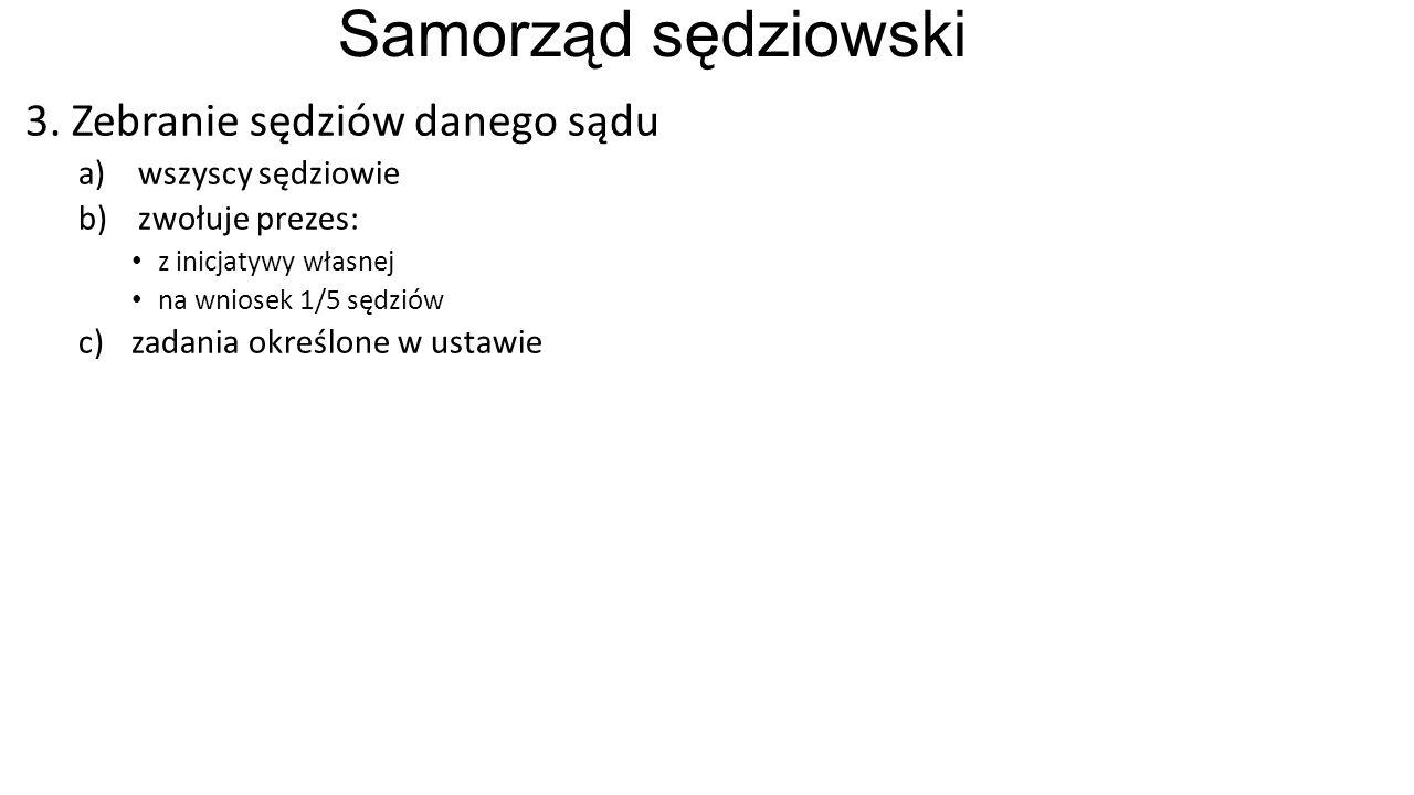 Samorząd sędziowski 3.
