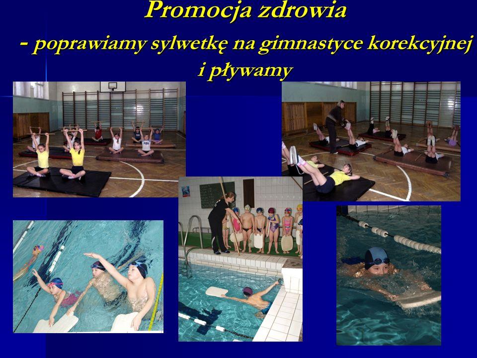 Promocja zdrowia - poprawiamy sylwetkę na gimnastyce korekcyjnej i pływamy