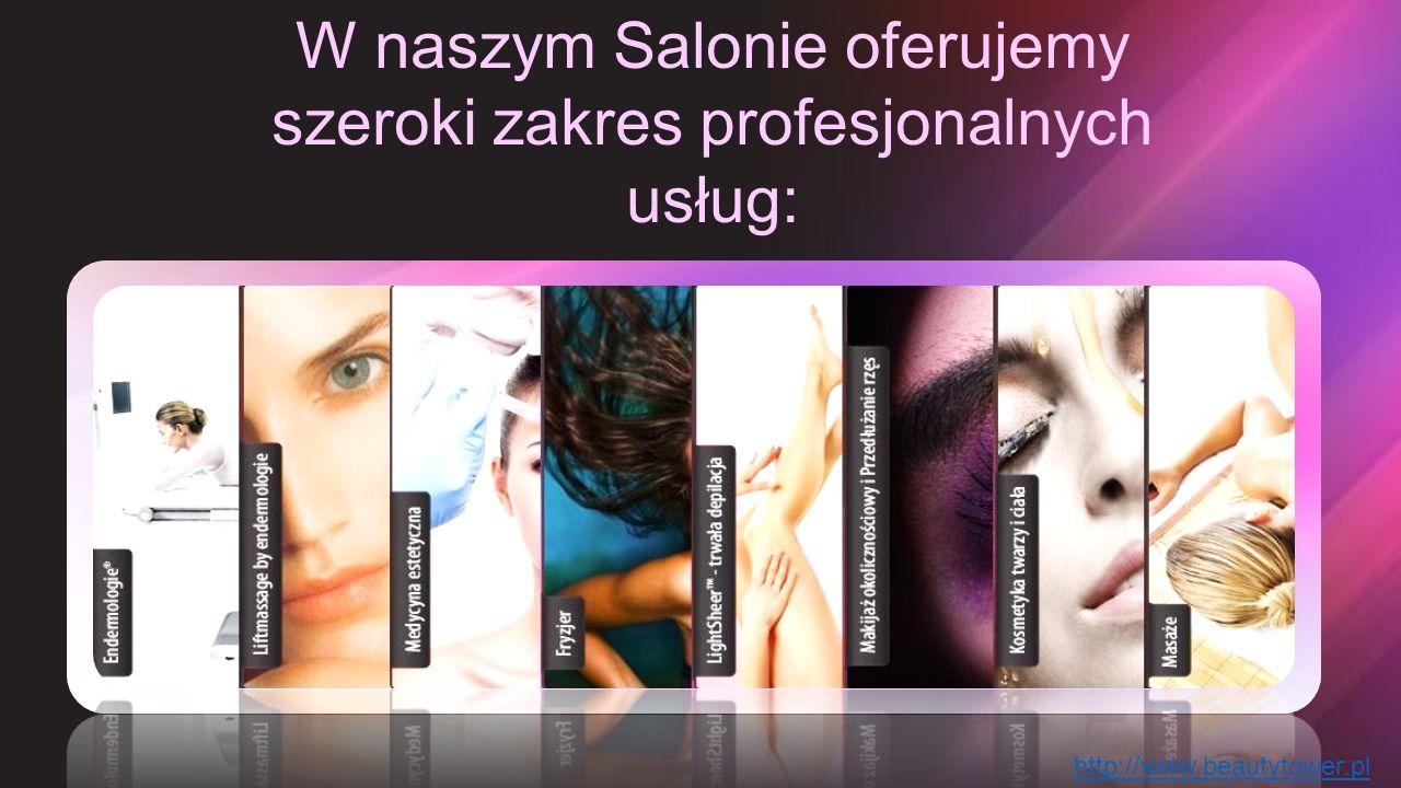 W naszym Salonie oferujemy szeroki zakres profesjonalnych usług: http://www.beautytower.pl