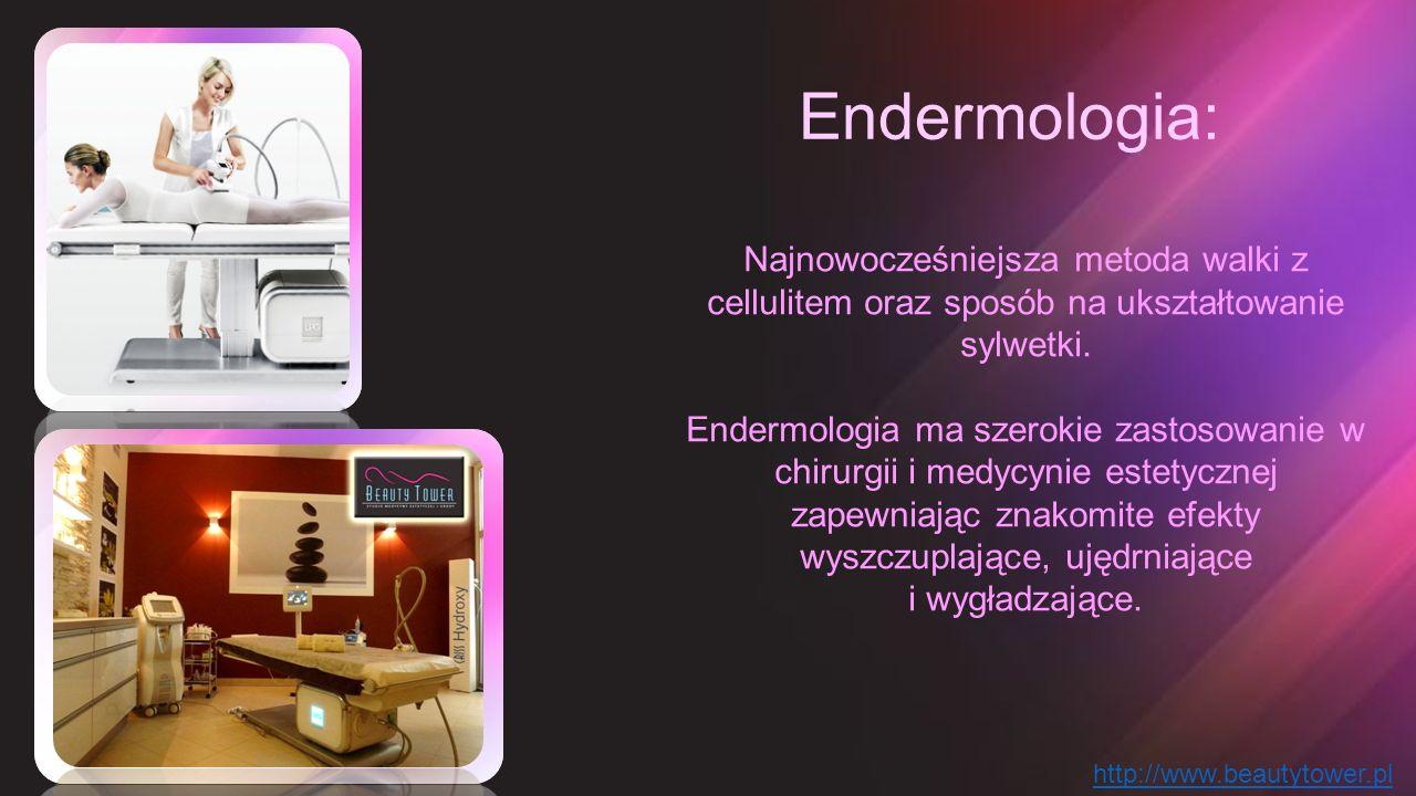 Endermologia: Najnowocześniejsza metoda walki z cellulitem oraz sposób na ukształtowanie sylwetki. Endermologia ma szerokie zastosowanie w chirurgii i