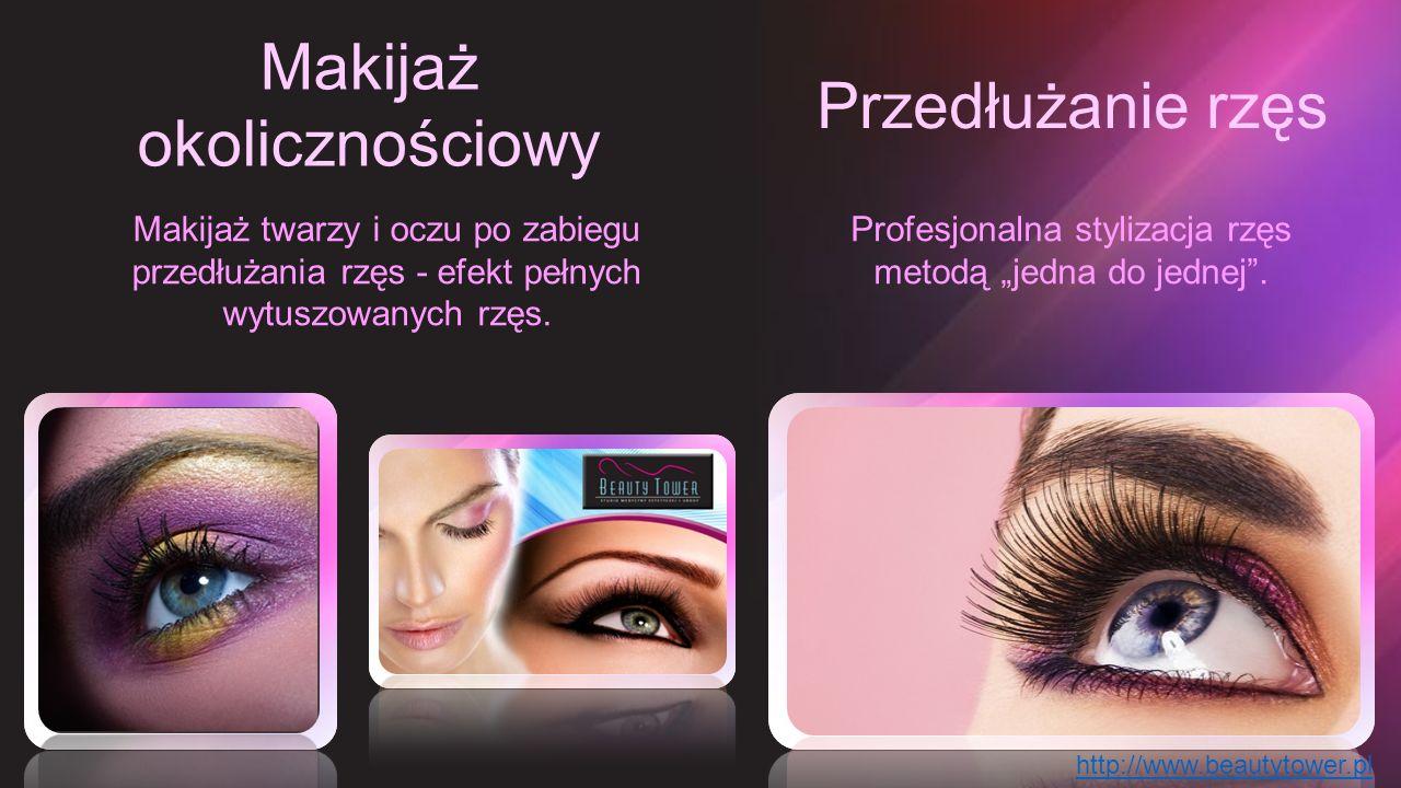"""Makijaż okolicznościowy Przedłużanie rzęs Profesjonalna stylizacja rzęs metodą """"jedna do jednej"""". Makijaż twarzy i oczu po zabiegu przedłużania rzęs -"""