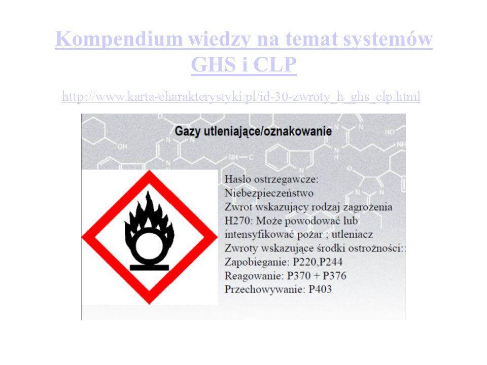 Kompendium wiedzy na temat systemów GHS i CLP http://www.karta-charakterystyki.pl/id-30-zwroty_h_ghs_clp.html
