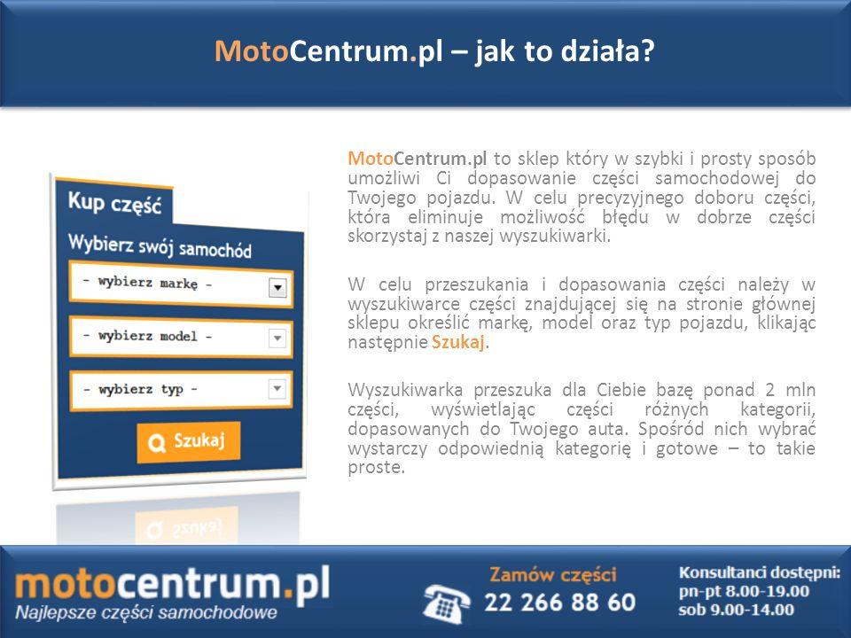MotoCentrum.pl – jak to działa.