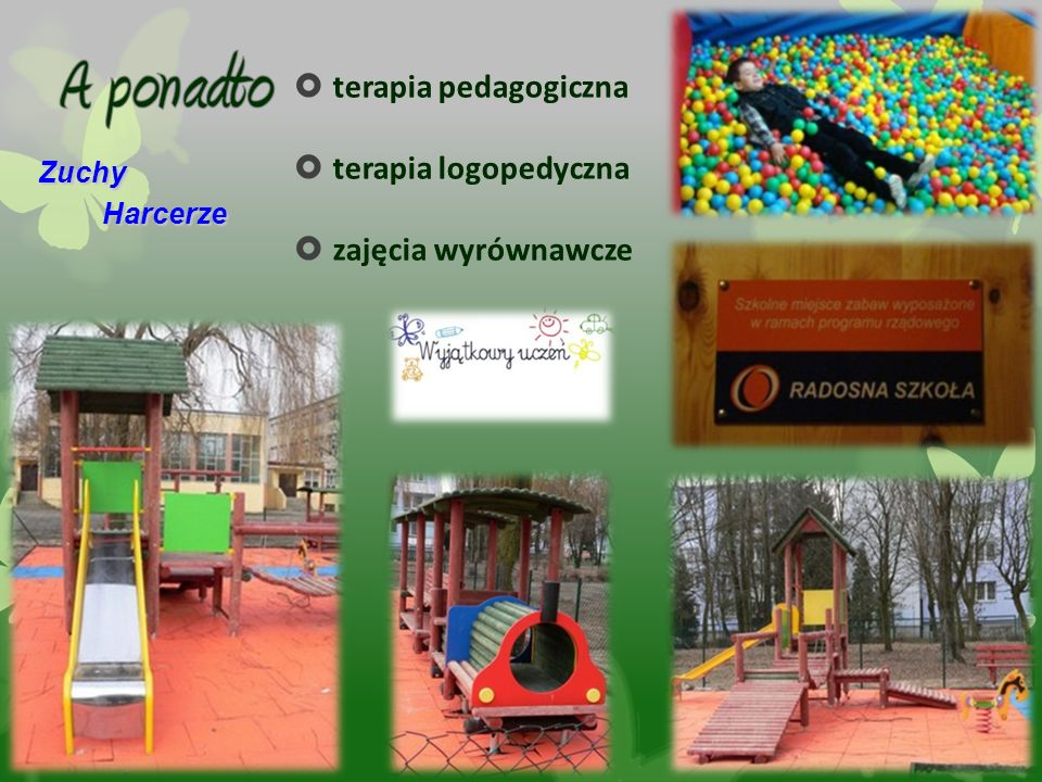  terapia pedagogiczna  terapia logopedyczna  zajęcia wyrównawcze Zuchy Harcerze Harcerze