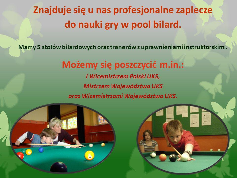 2016-05-31 Znajduje się u nas profesjonalne zaplecze do nauki gry w pool bilard. Mamy 5 stołów bilardowych oraz trenerów z uprawnieniami instruktorski