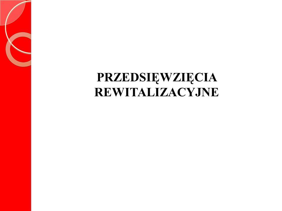 PRZEDSIĘWZIĘCIA REWITALIZACYJNE