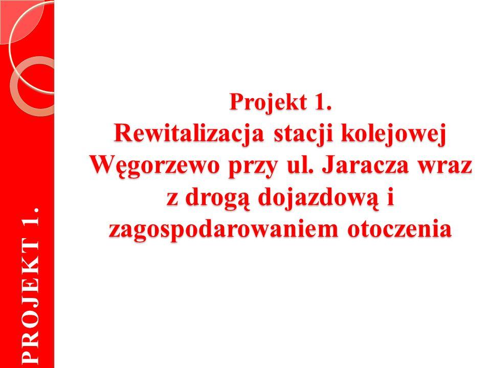 Projekt 1. Rewitalizacja stacji kolejowej Węgorzewo przy ul.