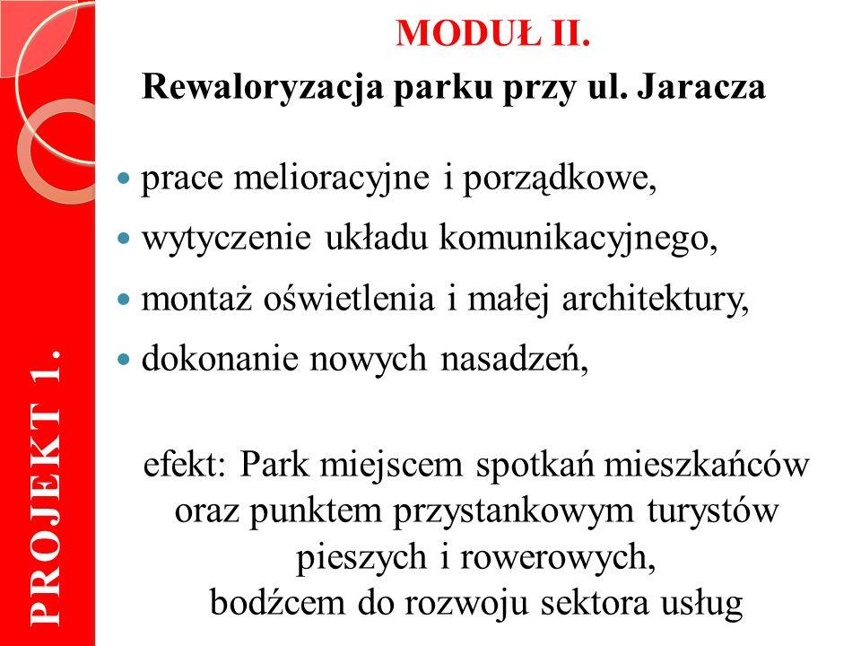 MODUŁ II. Rewaloryzacja parku przy ul.