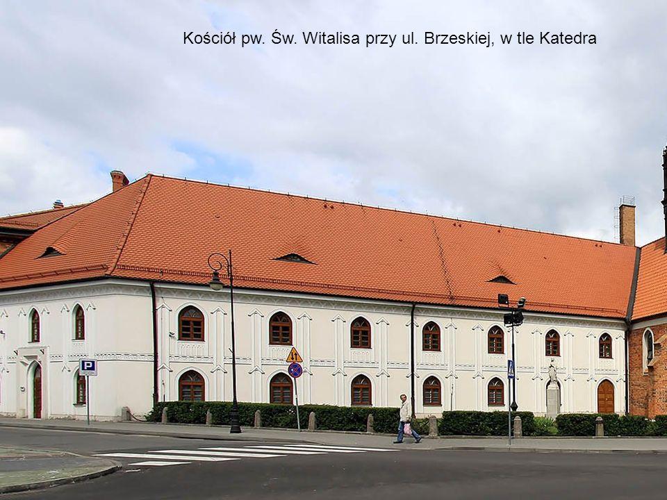 Neogotycki budynek Straży pożarnej Obecnie Oddział Centrum kultury