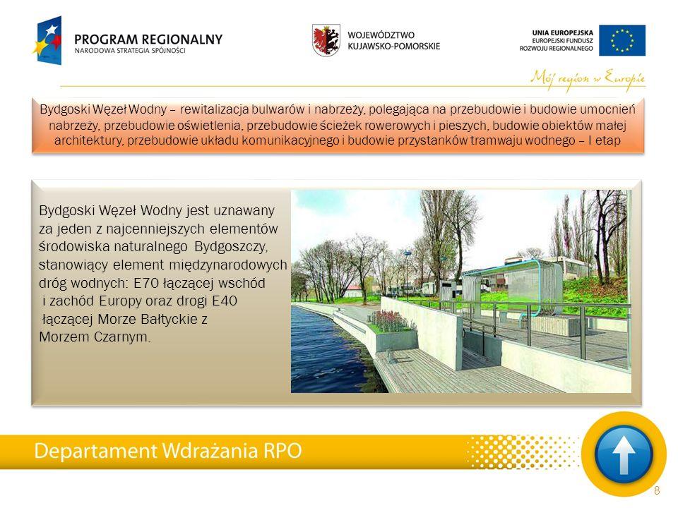 Projekt pod nazwą Międzynarodowe Centrum Spotkań Młodzieży polega na stworzeniu warunków dla wzrostu znaczenia usług turystycznych jako czynnika stymulującego rozwój społeczno-gospodarczy województwa kujawsko-pomorskiego.
