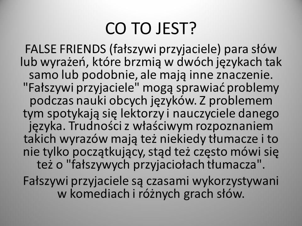 CO TO JEST.