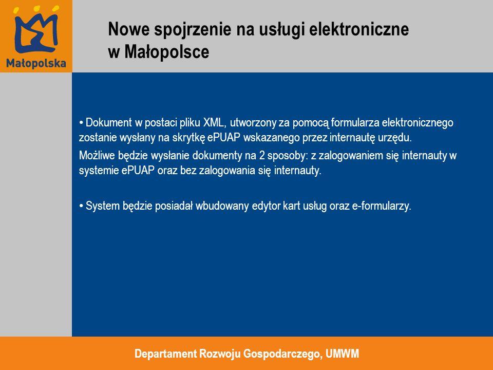 Dokument w postaci pliku XML, utworzony za pomocą formularza elektronicznego zostanie wysłany na skrytkę ePUAP wskazanego przez internautę urzędu. Moż