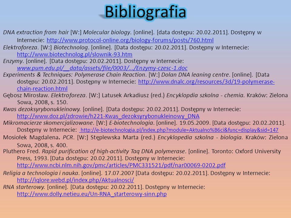 Elektroforeza. [W:] Biotechnolog. [online]. [Data dostępu: 20.02.2011].