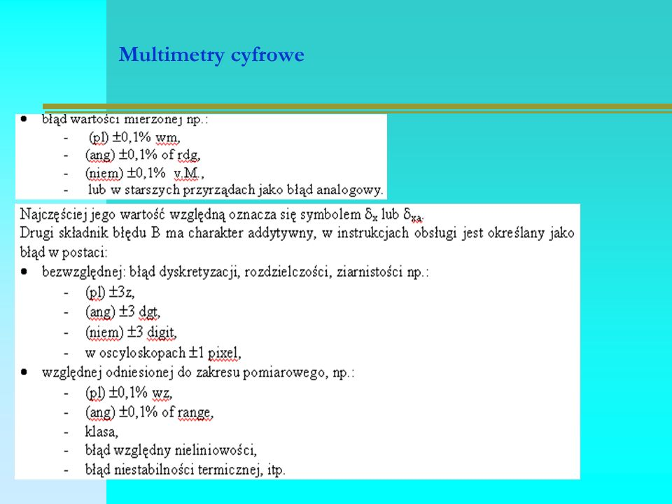 Multimetry cyfrowe