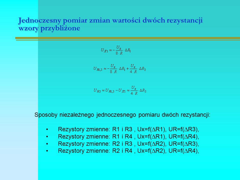 Multimetr V 562 pomiar rezystancji i pojemności