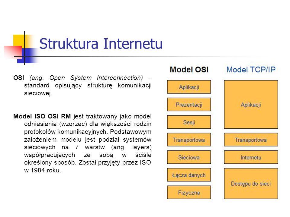 Dostęp do Internetu na kilka sposobów Połączenia stałe SDI (Szybki Dostęp do Internetu).