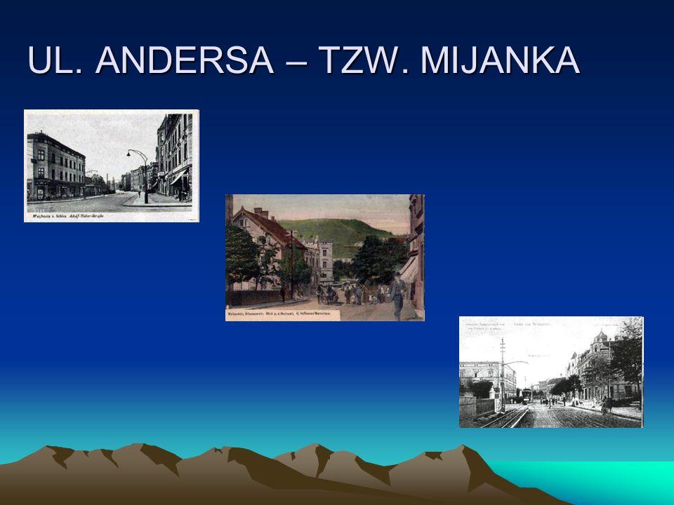 UL. ANDERSA – TZW. MIJANKA