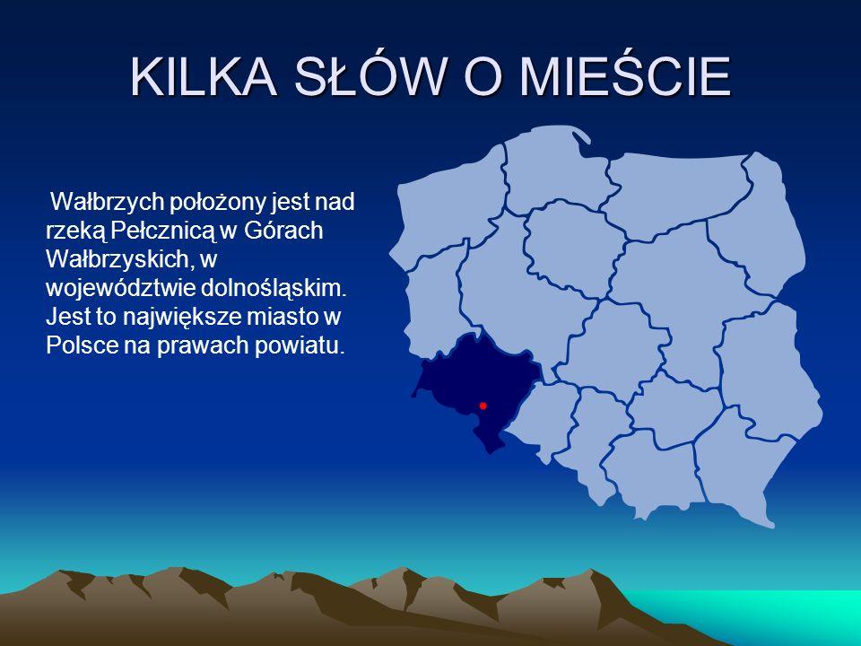 Wałbrzych istniał już w 1305 roku, prawa miejskie uzyskał po roku 1400.