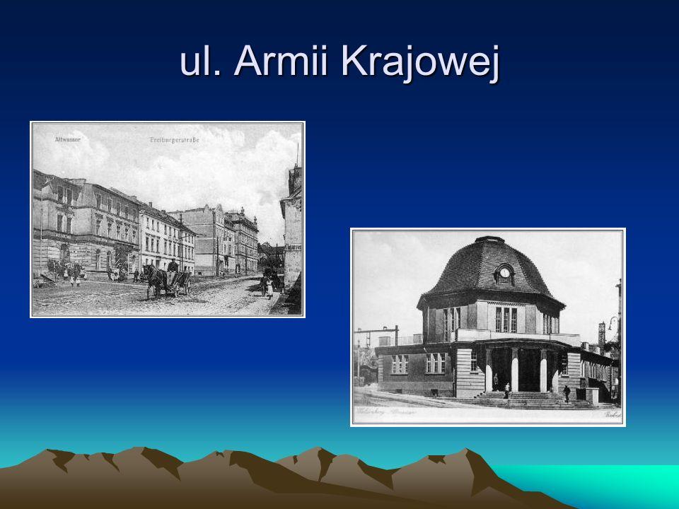 ul. Armii Krajowej
