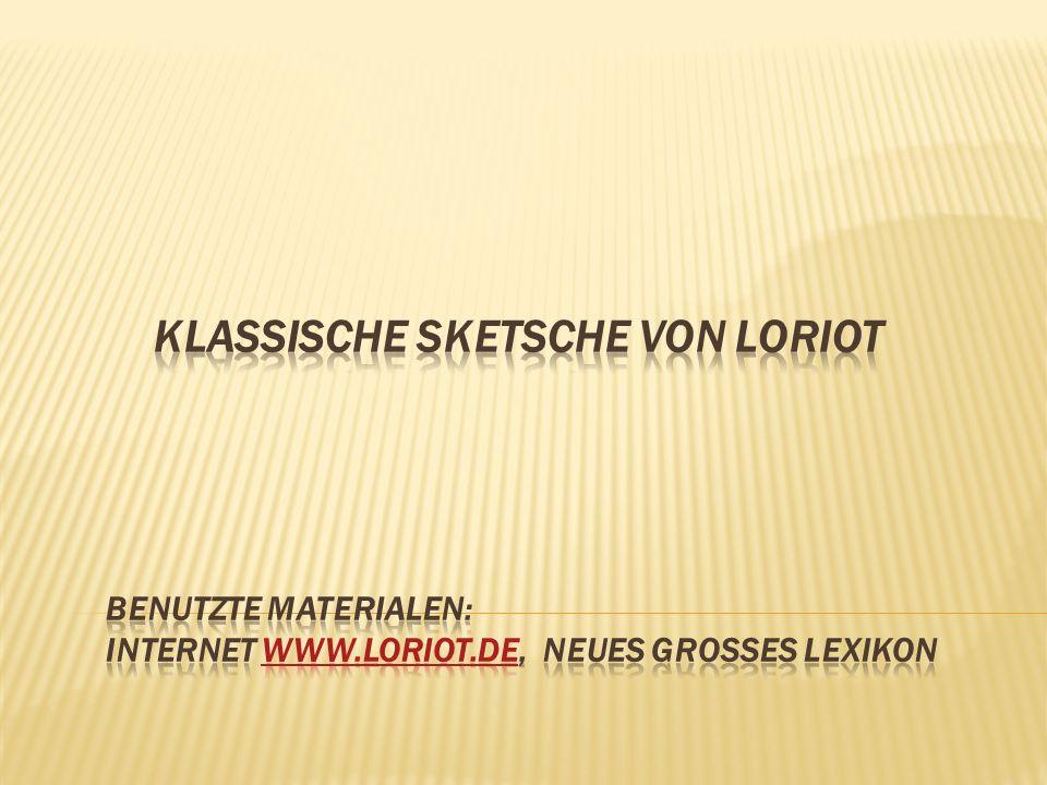 Loriot - eigentlich Vicco von Bülow, deutscher Karikaturist, Regisser, Schauspieler. geboren 1923