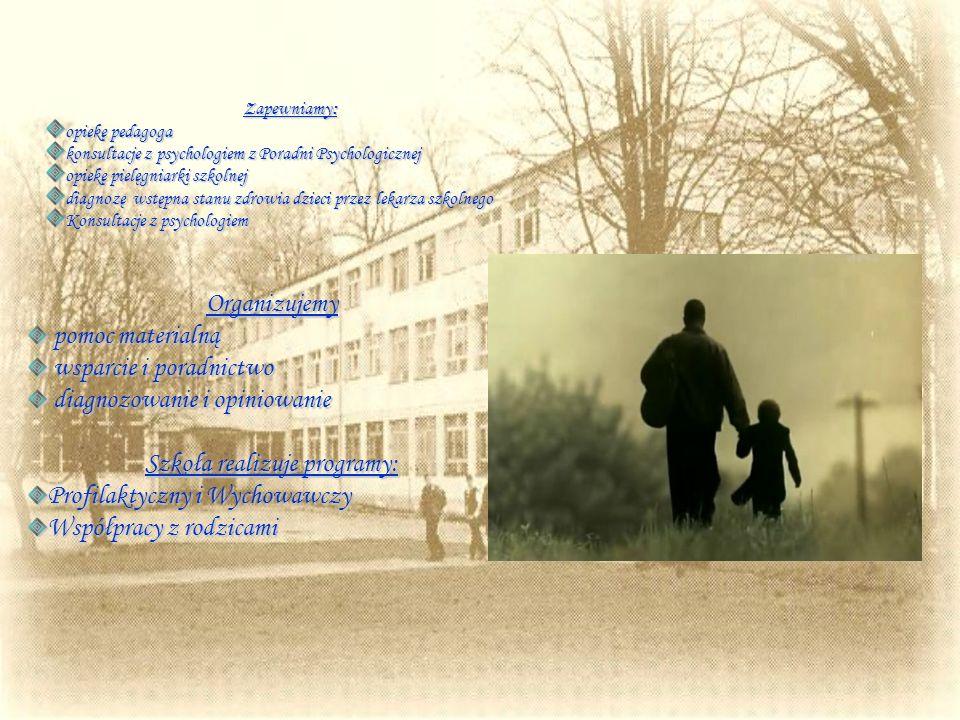 Nasza szkoła współpracuje z wieloma instytucjami i firmami m.in.: Poradnią Psychologiczno-Pedagogiczną Nr 1 w Łodzi, Ochotniczą Strażą Pożarną, Radą O