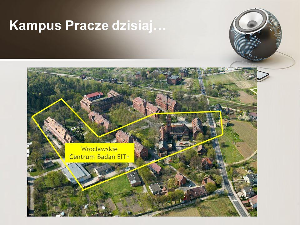 Kampus Pracze dzisiaj… Wrocławskie Centrum Badań EIT+