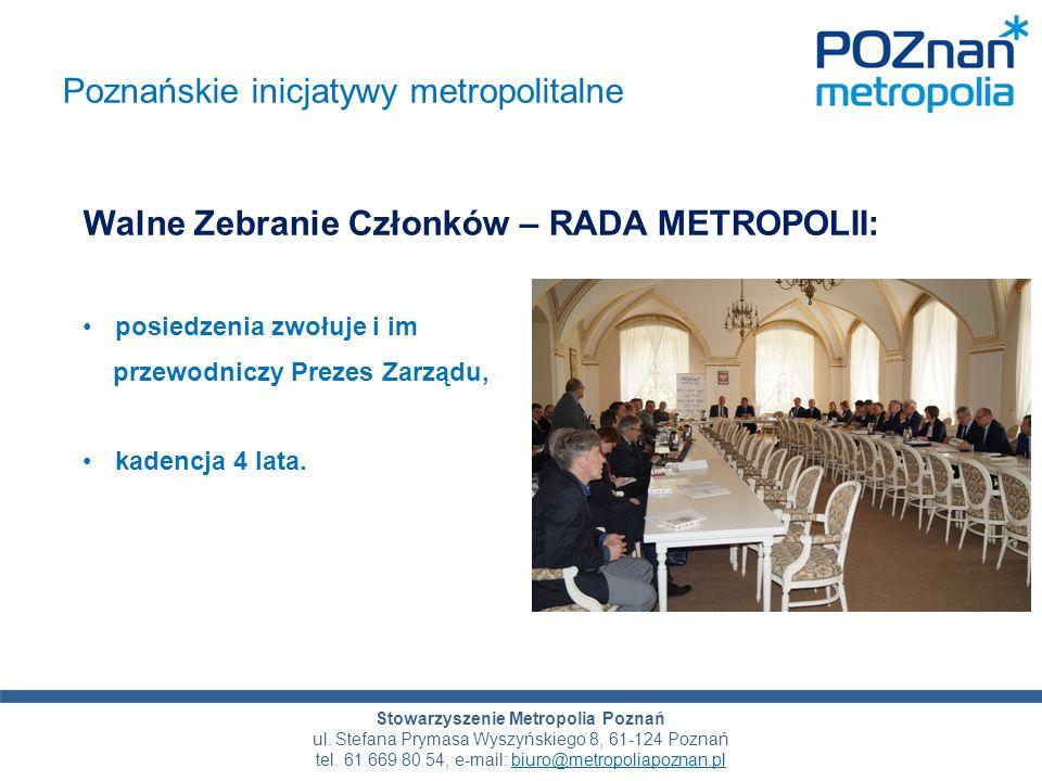 Tytuł prezentacji Stowarzyszenie Metropolia Poznań ul.
