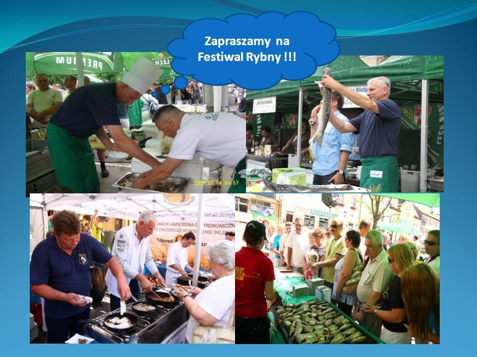 Zapraszamy na Festiwal Rybny !!!