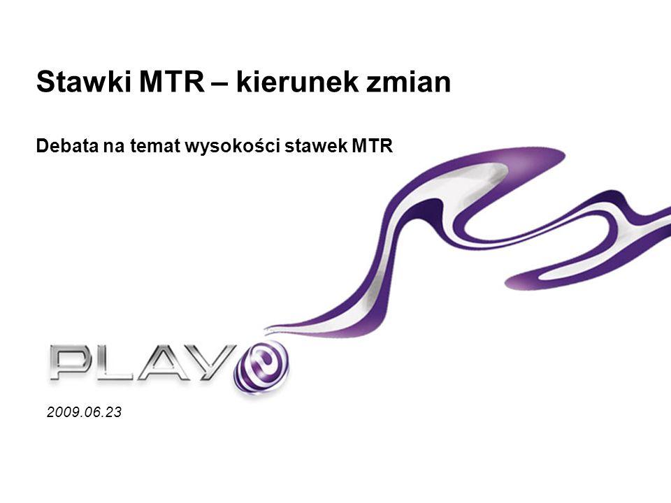 Zalecenie Komisji Europejskiej w zakresie MTR (*) Ale kiedy to się stanie.