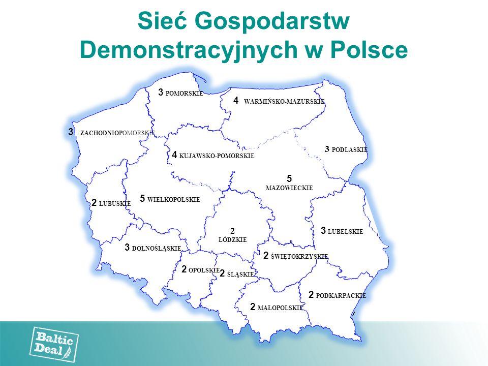 Sieć Gospodarstw Demonstracyjnych w Polsce